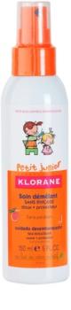 Klorane Petit Junior spray pour des cheveux faciles à démêler