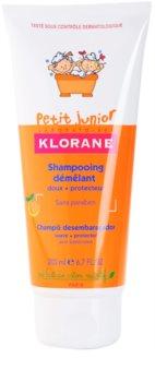 Klorane Junior детски шампоан с аромат на праскова
