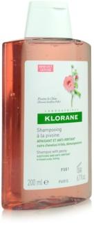 Klorane Peony nyugtató sampon érzékeny bőrre