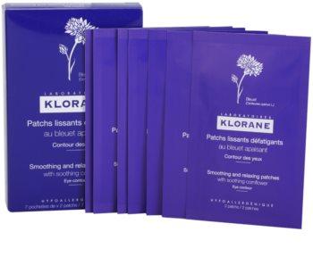 Klorane Cornflower obliž za glajenje gub in relaksacijo za predel okoli oči