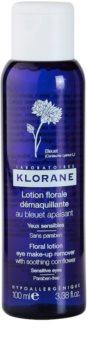 Klorane Cornflower agua desmaquillante para ojos sensibles