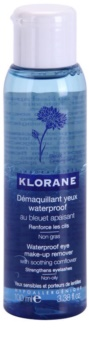 Klorane Cornflower Two-Phase Eye Makeup Remover for Stronger Lashes