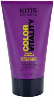 KMS California Color Vitality regenerační péče pro blond a melírované vlasy