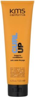 KMS California Curl Up condicionador sem enxaguar nutritivo para cabelo ondulado