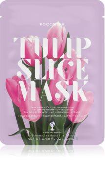 KOCOSTAR Tulip Mask Sheet Feuchtigkeitsspendende Tuchmaske