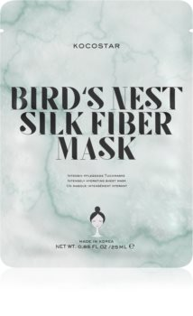KOCOSTAR Bird's Nest Silk Fiber Mask Sheet Mask for Intensive Hydration