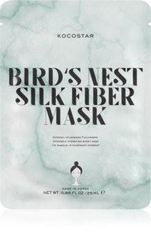 KOCOSTAR Bird's Nest Silk Fiber Mask Sheet maska za intenzivnu hidrataciju lica