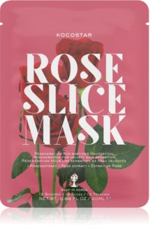 KOCOSTAR Rose Mask Sheet Sheet maska za regeneraciju lica