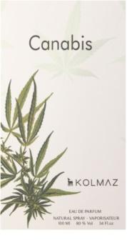 Kolmaz Cannabis Eau de Parfum para homens 100 ml