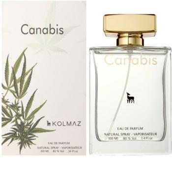 Kolmaz Cannabis eau de parfum férfiaknak 100 ml