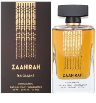 Kolmaz Zaahirah eau de parfum férfiaknak 100 ml