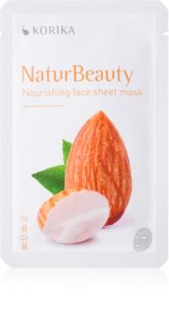 KORIKA NaturBeauty maschera viso nutriente in tessuto