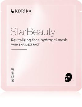 KORIKA StarBeauty revitalizační hydrogelová maska se šnečím extraktem