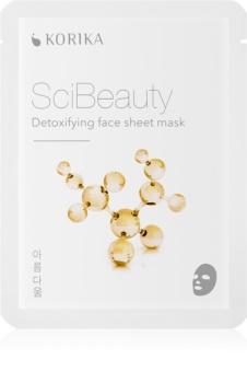 KORIKA SciBeauty detoxikační plátýnková maska