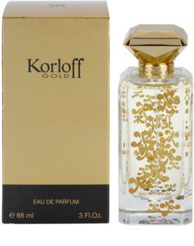 Korloff Gold Eau de Parfum voor Vrouwen  88 ml