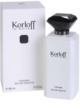 Korloff In White toaletní voda pro muže 88 ml