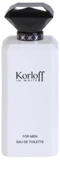 Korloff In White eau de toilette pour homme 88 ml