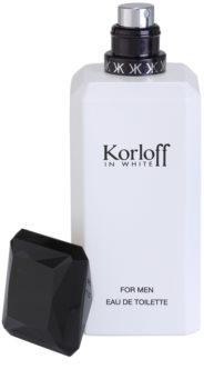 Korloff In White eau de toilette pentru barbati 88 ml