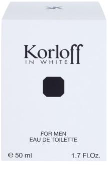 Korloff In White toaletná voda pre mužov 50 ml