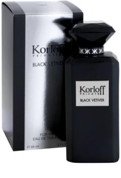 Korloff Korloff Private Black Vetiver woda toaletowa unisex 88 ml