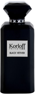 Korloff Korloff Private Black Vetiver toaletna voda uniseks 88 ml