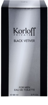 Korloff Private Black Vetiver toaletní voda unisex 88 ml