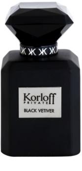 Korloff Korloff Private Black Vetiver Eau de Toilette unissexo 50 ml