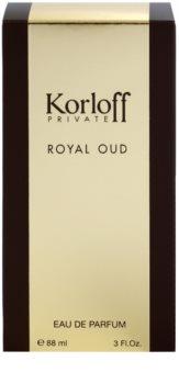 Korloff Korloff Private Royal Oud eau de parfum unisex 88 ml
