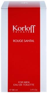 Korloff Korloff Private Rouge Santal woda toaletowa unisex 88 ml