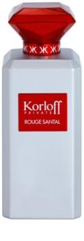Korloff Korloff Private Rouge Santal Eau de Toilette unisex 88 ml