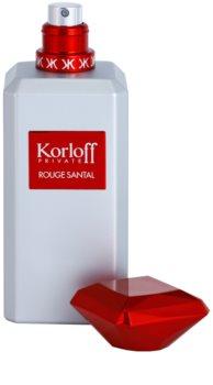Korloff Private Rouge Santal toaletní voda unisex 88 ml