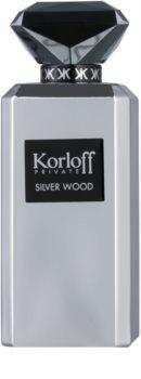 Korloff Private Silver Wood eau de parfum pentru barbati 88 ml