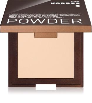 Korres Wild Rose kompaktni puder za osvetlitev kože