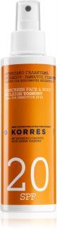 Korres Yoghurt Emulsion zum bräunen SPF 20