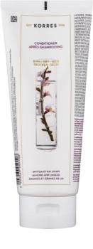 Korres Almond & Linseed acondicionador para cabello seco y frágil