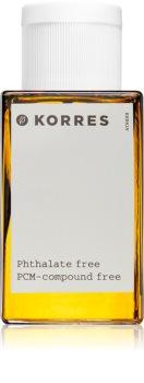 korres mountain pepper | bergamot | coriander