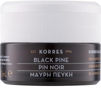 Korres Black Pine crema de día reafirmante con efecto lifting para pieles normales y mixtas