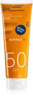 Korres Yoghurt Bruiningsemulsie  SPF 50