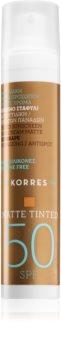 Korres Red Grape Getinte Anti-Rimpel Crème voor Gladde Huid  SPF 50