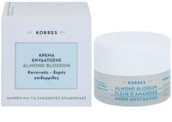 Korres Almond Blossom Moisturising Cream For Normal To Dry Skin