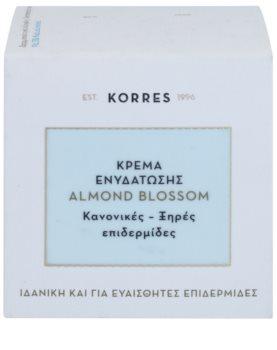 Korres Almond Blossom crema hidratante para pieles normales y secas