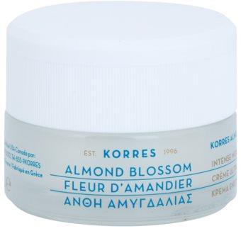 Korres Almond Blossom hidratáló és tápláló krém száraz és nagyon száraz bőrre