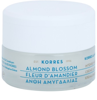 Korres Face Almond Blossom Moisturizing and Nourishing Cream for Dry and Very Dry Skin