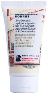 Korres Almond Oil & Calendula crema de maini hidratanta pentru utilizarea de zi cu zi
