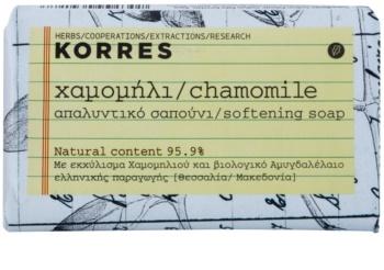 Korres Chamomile sapun solid pentru piele sensibila