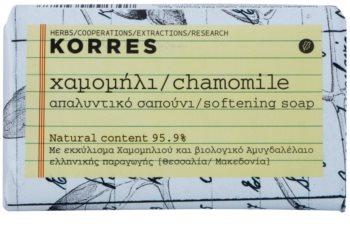 Korres Chamomile туалетне мило для чутливої шкіри