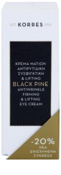 Korres Black Pine oční liftingový krém proti vráskám