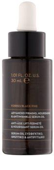 Korres Black Pine hranilni oljasti serum proti gubam