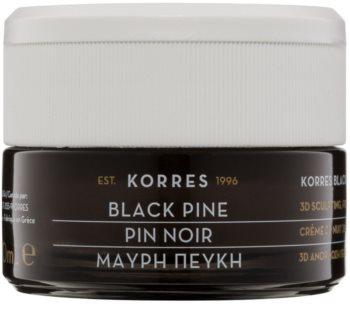 Korres Black Pine crema de noche reafirmante  con efecto lifting