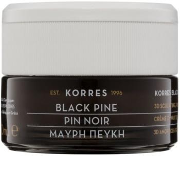 Korres Face Black Pine festigende Nachtcreme mit Lifting-Effekt